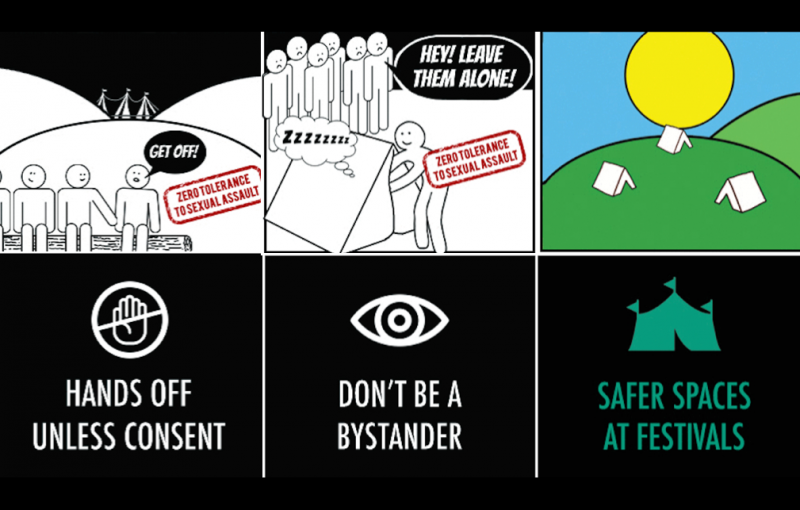 Safer Spaces poster