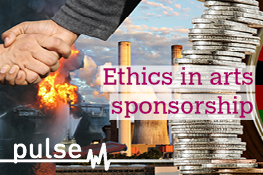 Read the results of our survey on ethics in arts sponsorship
