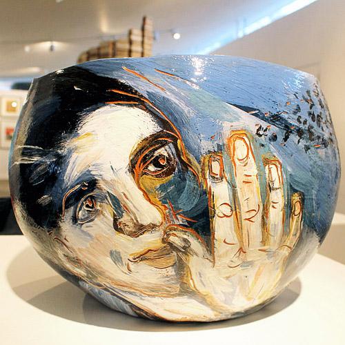 Jitka Palmer bowl in the gallery