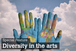 Click for special feature on Diversity in the arts