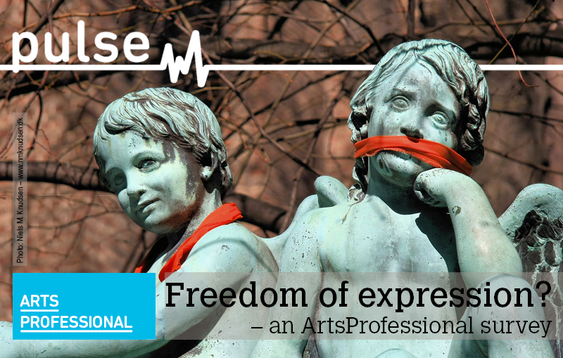 Click here to take ArtsProfessional's 'Freedom of expression?' survey