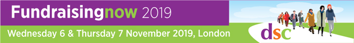 Fundraising now 2019 Wednesday 6 & Thursday 7 November 2019 London