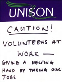 Image of Unison protest poster