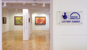 Photo of the interior of Borough Road Gallery © PHOTO Justin Piperger