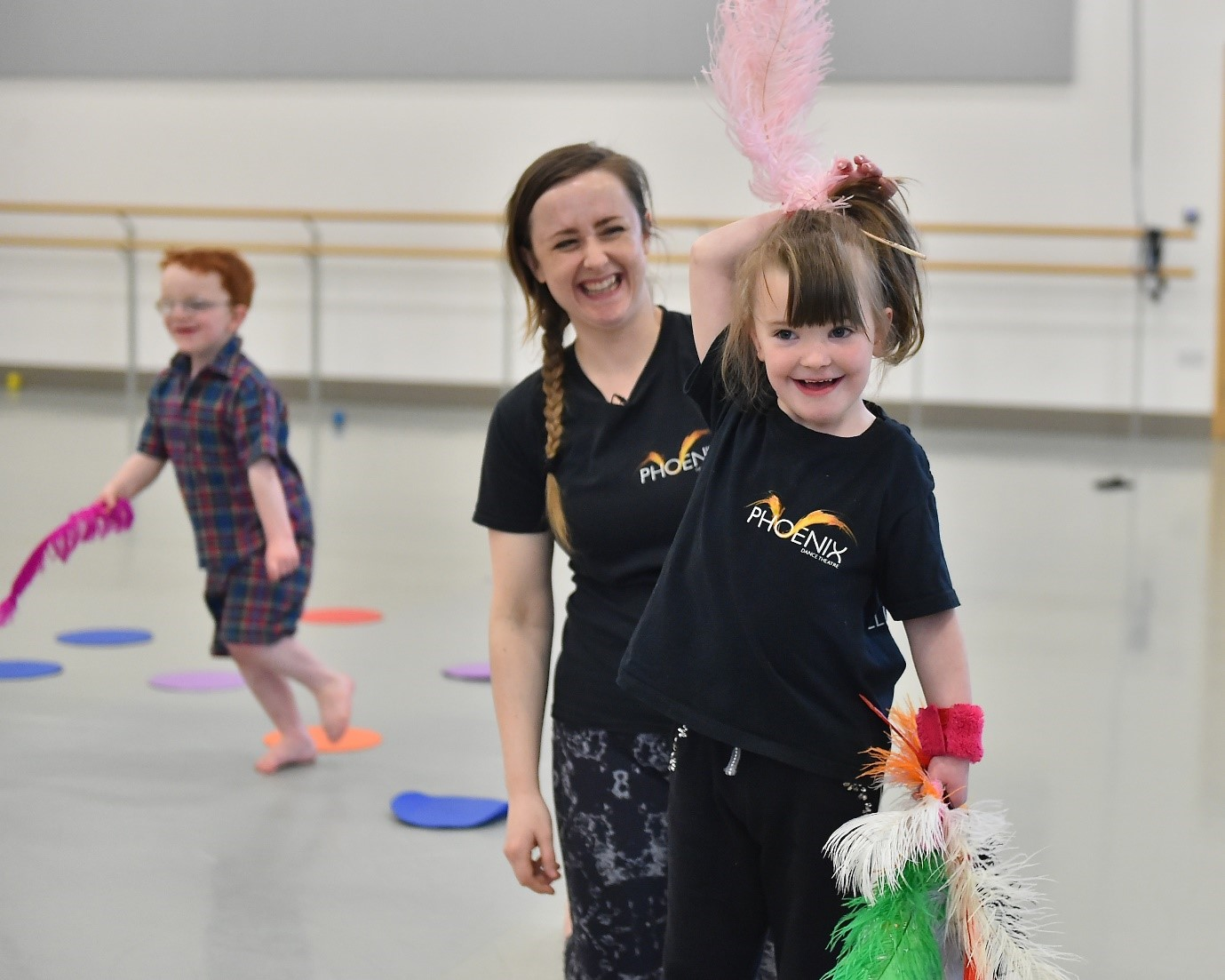 One of my favourite parts of the week, Illuminate Dance, runs on Saturday afternoons as targeted provision for young people with additional needs aged 6-18yrs. I'm responsible for managing the programme in terms of staffing, communicating with parents/carers and funders, all of our monitoring/evaluation work and generally ensuring the classes run smoothly. Some weeks, I'm able to come in and support the sessions as part of the delivery team – I'm very lucky to have this as part of my job!