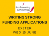 Arts Fundraising & Philanthropy - Writing Strong Funding Applications