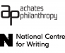 Achates Philanthropy and National Centre for Writing logo