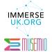Immerse UK + Musemio logo
