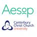 Aesop & Canterbury Christ Church University Logos