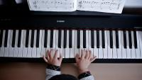 Photo of child piano