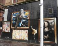Photo of some Street art in Glasgow