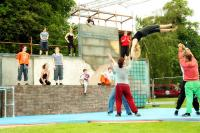 Photo of a youth circus performance