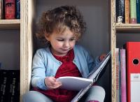 Photo of child reading