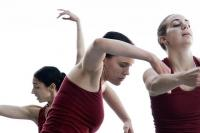Dance students at a Conservatoire