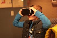 Photo of child VR