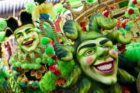 Photo of carnival performers