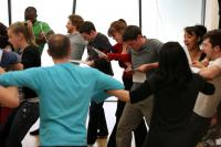 Photo of an actors' workshop