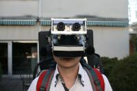 Photo of virtual reality headset