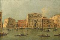 Guardi painting, canal in venice