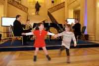 Photo of dancing to Ulster Orchestra