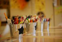 Photo of coloured pencils