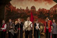 Students perform Les Miserables