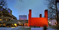 Image of the National Theatre's red shed