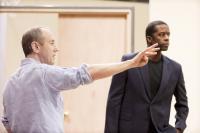 Hytner in rehearsal for Othello