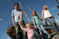 Visitors on ss Great Britain