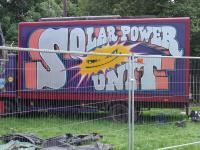 Photo of a solar power unit