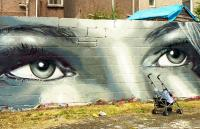 Photo of graffiti in Swansea