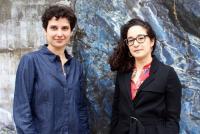 Anna Santomauro and Claudia Lastra