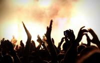 Photo of an audience at a concert