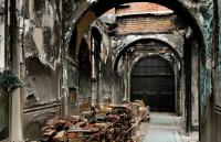 Photo of fire damaged Battersea Arts Centre