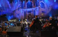 BBC concert orchestra on stage