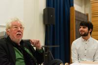 Image of Harrison Birtwistle and student