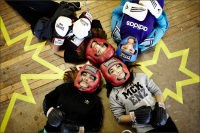 Women boxing gloves Common Wealth