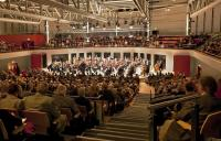 Photo of orchestra in concert