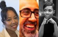 Samina Beckford, Anand Bhatt and Iona Waite
