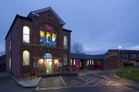 The outside of Chapel FM arts centre in Leeds