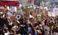 Photo of a climate strike
