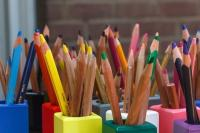 Photo of coloured pencils