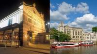 Watershed in Bristol and The Guildhall in York