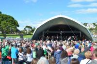 Photo of outdoor classical concert