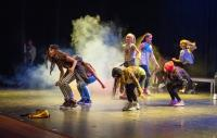 Photo of dancing young people