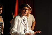 Boy student drama