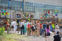 Photo of Visitors at The Izolyatsia Foundation