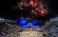 Photo of Edinburgh Tattoo with fireworks