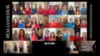 Screenshot of a virtual choir