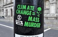 Extinction Rebellion campaign sticker